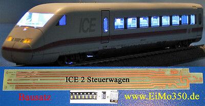 En lugar de Märklin ice 2 coches de impuestos y cabinas de iluminación LED nuevo kit