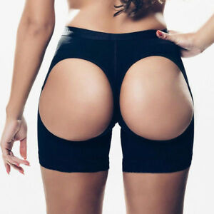 b65f2ec26e020 Women Butt Booty Lifter Shaper Bum-Lift Pants Buttocks Enhancer ...