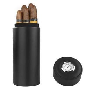 Genuine-Leather-Cedar-Travel-Humidor-Cigar-Tube-Case-With-Humidifier-6-Cigars