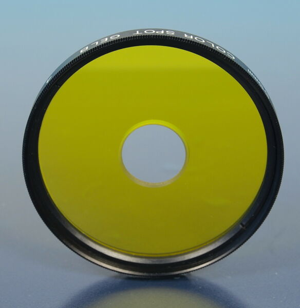 Hama ø55mm Gelbfilter Yellow Filtre Jaune, Nanisme Filtre Color-spot 4 - (91823) Apparence Attractive
