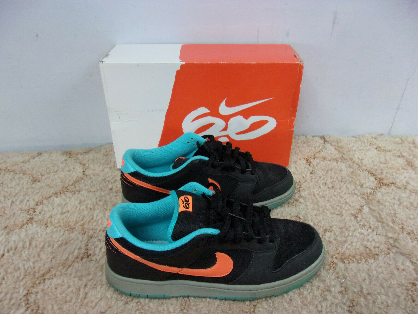 NIKE Dunk Low AS Black orange blueee shoes w Box Size 10 S01