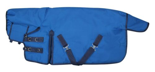 Miniature Horse 500g fill Ripstop 1200 Denier Turnout Rug Blue For Pony