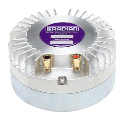 "Radian 1450PB Diaphragm 1/""drivers Pushbutton Terminal Aluminum Alloy Dome 8 ohm"