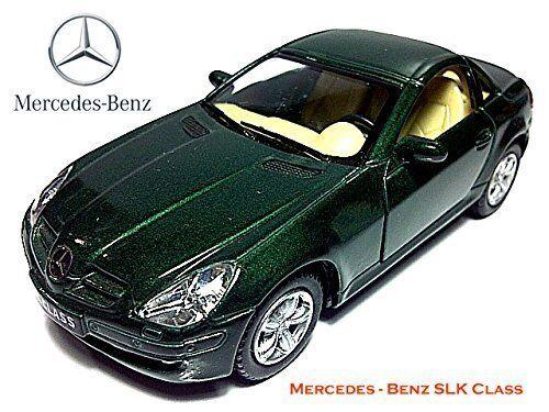 5 Kinsmart Mercedes Benz Slk Class Diecast Model Toy Car 1 32 Set