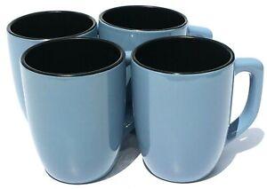 Corelle-Hearthstone-Stoneware-Mugs-Bluetopia-Set-of-4-Slate-Blue-amp-Black