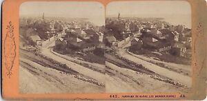 Panorama-Del-Havre-Brundisium-Francia-Vintage-Stereo-Albumina