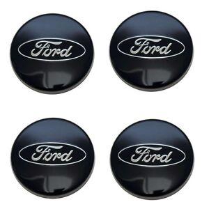 Original-Ford-Nabenkappe-Radkappe-Alufelge-Zierkappe-Blau-1429118-NEU-4-Stueck