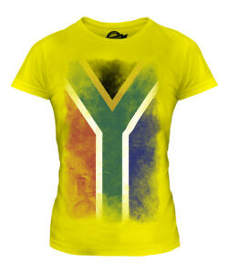 SOUTH-AFRICA-FADED-FLAG-LADIES-T-SHIRT-TOP-SUID-AFRIKA-FOOTBALL-AFRICAN-SHIRT