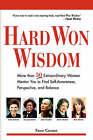 Hard Won Wisdom by Fawn Germer (Paperback / softback, 2008)