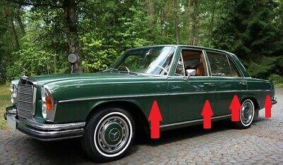 Fit For Mercedes Benz W108 W109 Grill Moulding trim set 9 Pcs Alu 250S 280S SE