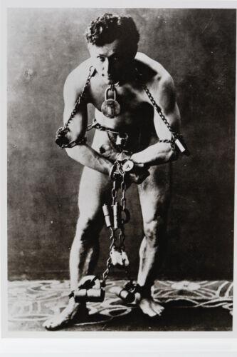 HARRY HOUDINI Kunst-Postkarte ca.1920