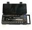 Clé à Douille Set Outils à Main Poignée à Cliquet Bar Adaptateur SPIN disque À faire soi-même Carry 40PC