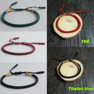 dfd26fbe22 Image is loading Buddhist-Love-Lucky-Charm-Tibetan-Bracelets-Bangles-Women-