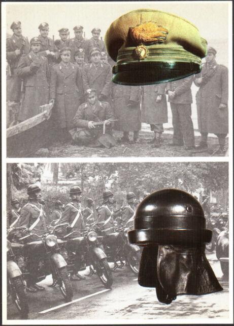 CARABINIERI, BERRETTO UFFICIALE GUERRA 1940, CASCO CARABINIERE MOTOCICLISTA 1940