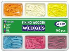 400 Pcs Dental Fixing Wooden Wedges For Dental Restoration Tor Vm 6 Types 1085