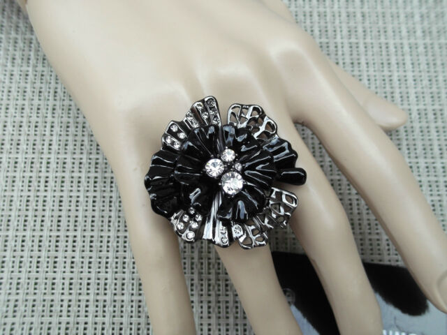 Mimco  Starlight Flower Ring  ,BNWT, RRP $149