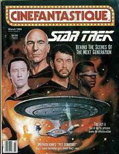 WoW! Cinefantastique V19#3 Star Trek The Next Generation! The Fly II! Warlock!