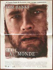 Affiche SEUL AU MONDE Cast Away TOM HANKS Helen Hunt 40x60 *D