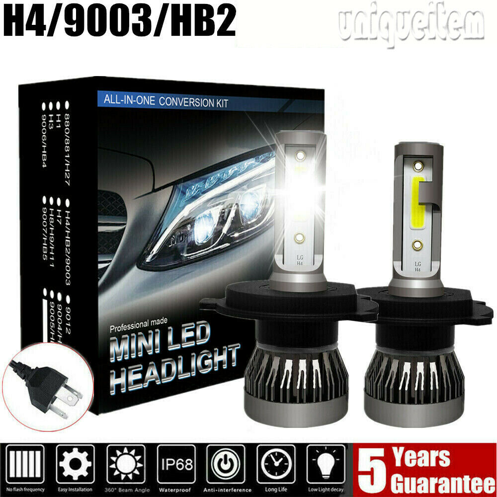 2x H7 LED Headlight Turbo Cool Fan  Bulbs PURE WHITE CITROEN C5 2004