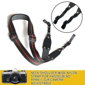 Neck-Shoulder-Wide-Nylon-Strap-Adjustable-For-Hasselblad-XPAN-II-SLR-Camera