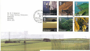 8-FEBRUARY-2005-SOUTH-WEST-ENGLAND-ROYAL-MAIL-FIRST-DAY-COVER-BUREAU-SHS