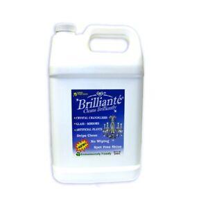 Brilliante New Crystal Chandelier Cleaner One Gallon Refill Environmentally Safe Ebay