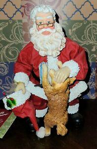 Possible Dreams Clothtique Santa - Grampa Claus- # 713146- With Box