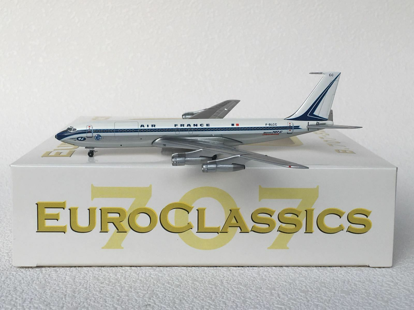 la calidad primero los consumidores primero Aeroclassics 1 400 Air France France France Boeing B707-320 BC F-blcc  Garantía 100% de ajuste