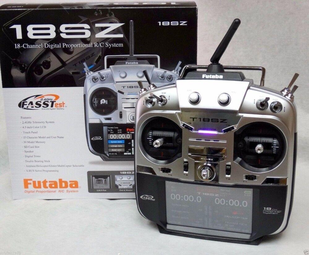 Futaba 18SZ H 2.4Ghz 18ch transmisor receptor de Bus & R7008SB HV S. modo 1 & 2
