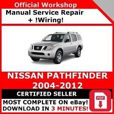# FACTORY WORKSHOP SERVICE REPAIR MANUAL NISSAN PATHFINDER 2004-2012 +WIRING