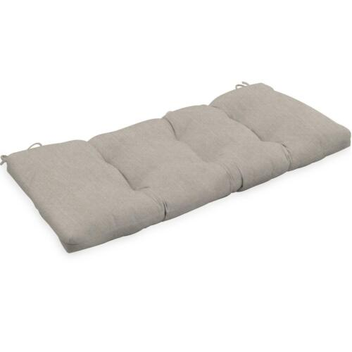 Sunbrella Canvas Outdoor Replacement Bench Patio Cushion 42W X 18D X 3 22 Colors