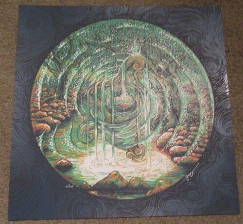 JAMES EADS Giclee Print THE HALF-DREAM HARP Dream Tracks poster art sn//125