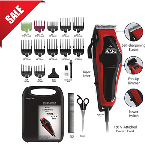 Professional-Hair-Cut-Machine-Barber-Salon-Cutting-Clippers-Trimmer-Kit-Wahl