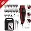 Professional-Hair-Cut-Machine-Barber-Salon-Cutting-Clippers-Trimmer-Kit-Wahl thumbnail 1