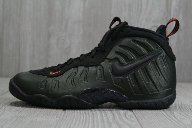 reputable site 81929 9b441 43 Youth Nike Little Posite Pro GS Sequoia FoamPosite Shoe 644792-300 SZ  6.5Y 7Y