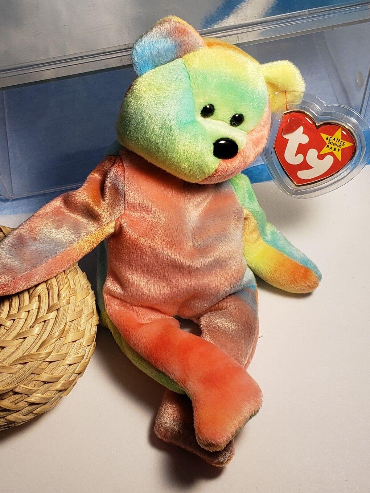 Ty Beanie Babies ULTRA RARE GARCIA PVC 1st EDITION retired Extraordinary Errors