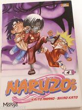 Manga NARUZO ZO tome 4 chez Gekko éditions Naruzozo en Français très bon état
