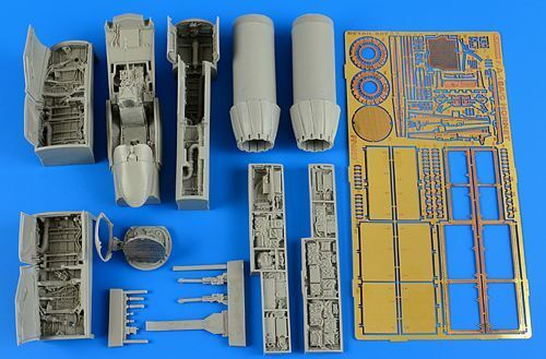 Aires 1 48 F A-18A C Hornet detail set for Hasegawa kit