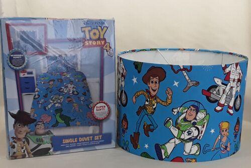 Officiel Toy Story 4 Simple Housse Couette /& Assorti Abat-jour