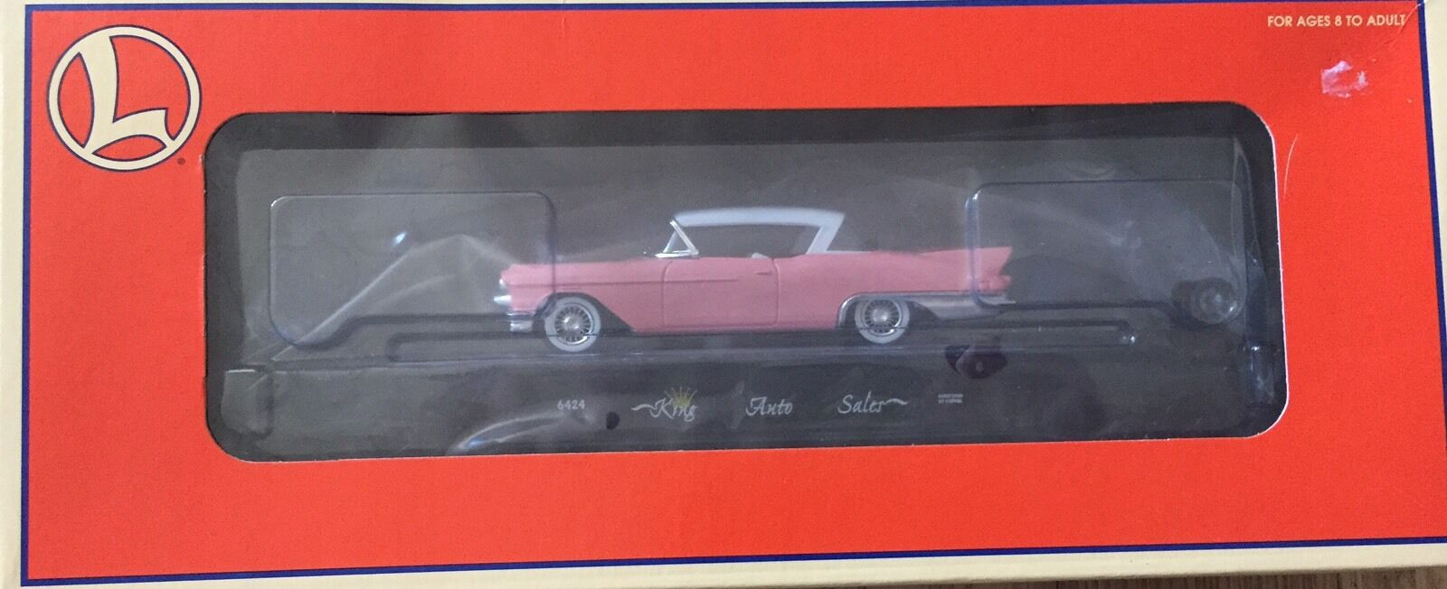 LIONEL 6-36067 KINGS AUTO SALES FC WITH CADILLAC
