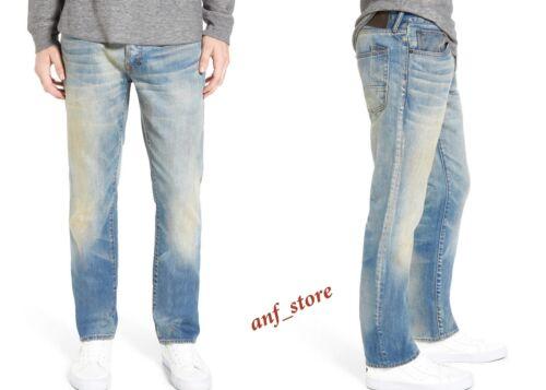 NWT PRPS Goods JAPAN Demon Slim Straight Leg Men Jeans 34 x 34 FADED $325