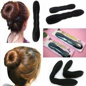 2Pcs-Hair-Magic-Sponge-Clip-Foam-Bun-Curler-Twist-Hair-Tool-Styling-Accessories