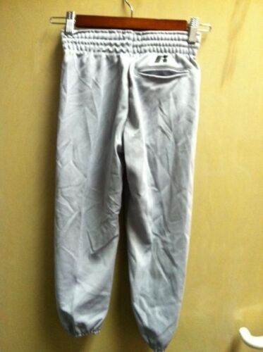 Base ball Baseball Pants YouthBoys  Grey Gray XSmall Polyester XS Pullup NEW