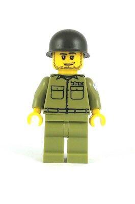 Custom Lego ® Macho Idf Mini-Boneco David