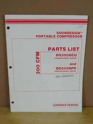 OEM Gardner Denver Soundesign Air Compressor 300 CFM Parts