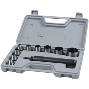 10PZ-Heavy-Duty-Hollow-Punch-Kit-Set-Guarnizione-nelPelle-Gomma-M7X3-E1G9