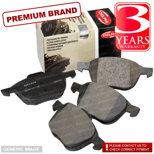 Rear Brake Pads Honda Accord 2.2i-CTDI Saloon MK VIII 03-08 140 88.77x47.4x15.9