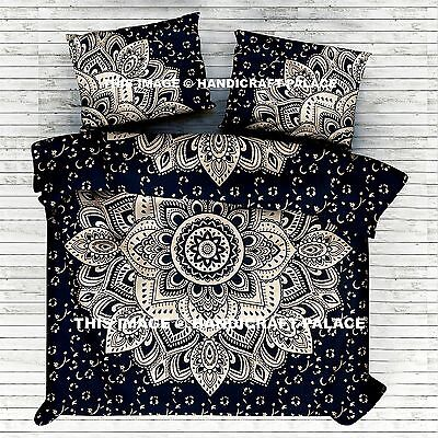 Cotton Duvet Cover Doona Cover Indian Ombre Mandala Blanket Quilt Cover Pillows