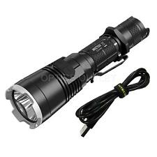 NiteCore MH27UV 1000 Lumen Rechargeable LED Flashlight w/ White, Red, Blue, UV