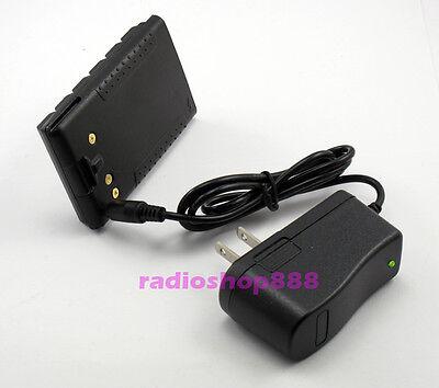 EU Adapter for Yaesu//Vertex VX-150 VX-210A FT-60R Earpiece Charger Battery